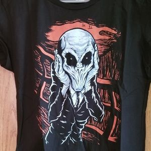 The Scream of Silence Doctor Who Tshirt